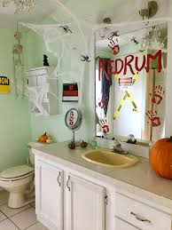 Halloween Bathroom Decor Holiday Crafts Archives Crafty Little Gnome