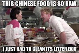 Food St Memes - this chinese food is so raw justpost virtually entertaining