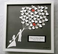 alternative wedding gift registry ideas wedding ideas wedding guest book alternative paper hearts lovely