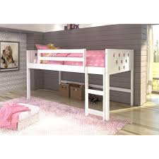 Donco Bunk Beds Donco Circles Low Loft Bed Free Shipping Today