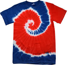 How To Tie Dye An American Flag Amazon Com Colortone Patriotic Tie Dye T Shirts Youth U0026