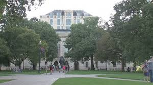 Ohio State Car Flags Ohio State Suspends 37 Fraternities Amidst Hazing Alcohol