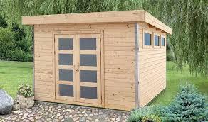 abri de jardin 9m2 abri de jardin en bois avec plancher 9 m2 alisier
