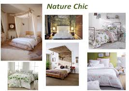 decoration chambre nature nature chic idée déco linge de lit chambre fleuri décor