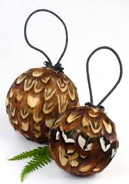 feather baubles pheasant feather decorations by loneash