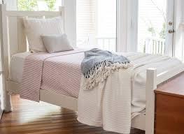 cotton ticking stripe blanket brahms mount
