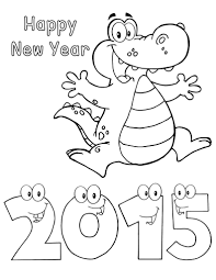 happy new year preschool coloring pages printable new years coloring pages free book happy year for to print