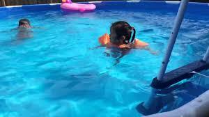 Intex Pool 14x42 Intex Pool 15x42 Youtube