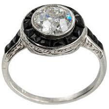 art deco onyx and diamond ring for sale at 1stdibs
