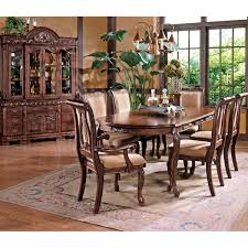 hudson 8 piece dining set with buffet hutch