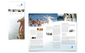 christian ministry tri fold brochure template word u0026 publisher