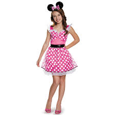 pink costumes buy pink minnie mouse costume for tweens