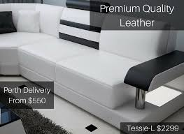 Leather Sofas Perth Leather Lounge Perth Customisable Leather Sofa At Desired Living