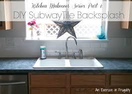 Kitchen With Subway Tile Backsplash by Kitchen Makeover Series Part 1 Subway Tile Backsplash An