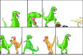 dinosaur comics template good son