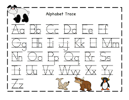 alphabet printables sheets kiddo shelter