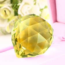 1pc 4cm crystal ball ornament hanging pendant wedding christmas