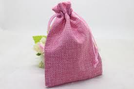 linen favor bags wholesale 50pcs lot 10x14cm linen favor bags pink colour christmas