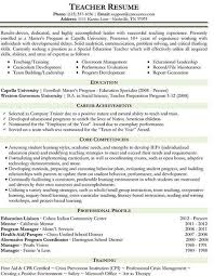 A Teacher Resume Examples by 33 Best Teaching Images On Pinterest Teacher Resumes Resume
