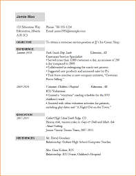 example of resume for job application examples of resume for job