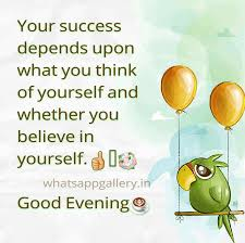 happy thanksgiving for facebook status success depends upon yourself whatsapp status goodevening