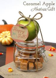 caramel apple party favors 7 fall hostess gift ideas caramel apples caramel and apples