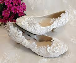 wedding shoes low heel pumps women pumps 2014 new arrival lace heels shoes low heel ivory white