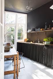 meuble cuisine rideau étourdissant rideaux meuble cuisine et maison avec de hauts plafonds