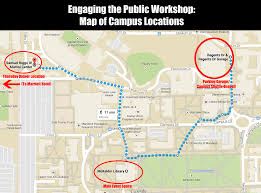 Umd Campus Map National Meeting U2013 Engaging The Public Best Practices For