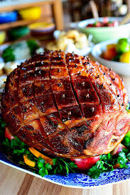 glazed easter ham the pioneer