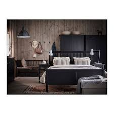 chambre hemnes hemnes bed frame black brown luröy hemnes bed frames and solid wood