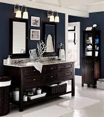 Navy And White Bathroom Ideas Gray Bathrooms Navy Blue And Wood Bathroom Midnight Blue