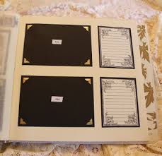 wedding scrapbook album quill cottage a wedding scrapbook album