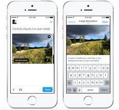 Blind People Phone Twitter Unveils New Feature To Help Blind People U0027see U0027 More Tweets