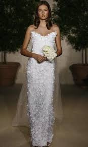 oscar de la renta lace wedding dress oscar de la renta 82n38 4 500 size 8 used wedding dresses