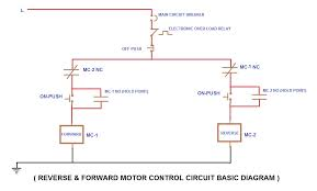 motor circuits control motor control circuit diagrams