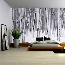 Wall Mural Shining Through The Amazon Com Wall26 Mural Of A Forest Covered In A Blanket Of