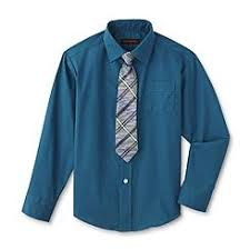 dockers toddler boys dress shirt and tie set