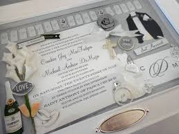 wedding invitation plate keepsake wedding wedding invitation keepsake box with engraved name