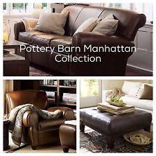 Pottery Barn Leather Couches Pottery Barn Leather Sofas Loveseats U0026 Chaises Ebay