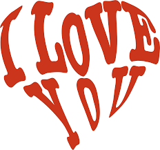red heart i love you clipart cliparts and others art inspiration