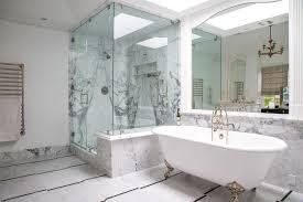 Bathtub Los Angeles Los Angeles Quartz Shower Walls Bathroom Traditional With Framed