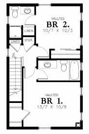 two bedroom house floor plan house design and plans