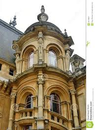 French Chateau Style Tower Of French Chateau Style House Stock Photo Image 53748927