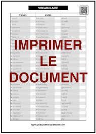 Couleurs En Anglais Francais Couleurs Liste Fle