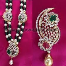 diamond sets design mango design diamond pendant sets jewellery designs