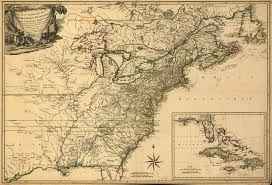 Map Of The United States With Compass by 1775 To 1779 Pennsylvania Maps