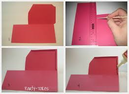 Make A Invitation Card Free Party Tales Tutorial Diy How To Make A Boarding Pass Invitation