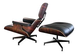 herman miller eames lounge chair u0026 ottoman with oiled palisander