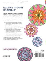 the mandala guidebook how to draw paint and color expressive
